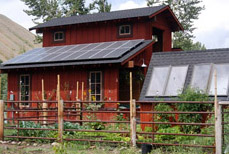 Solar Electric on a Barn